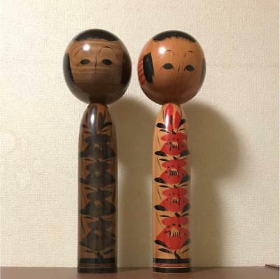 Kokeshi round Japanese traditional crafts retro cute vintage rare popular F / S!