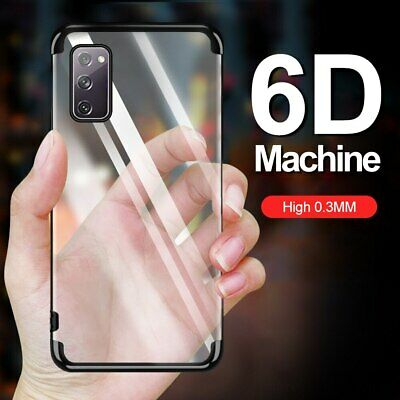 For Samsung Galaxy S8 S9 A5 A8 2018 Luxury Plated Slim Clear Soft TPU Case Cover