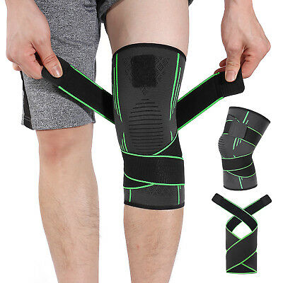 HOMPO Knee Support Brace Strap Compression Sleeve Sports Protector Adjustable