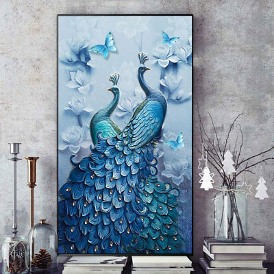 Full Drill 5D DIY Diamond Painting Cross Crafts Stitch Kit Home Decor with Tools