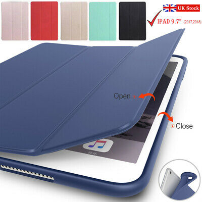"For Apple iPad Pro 11"" 9.7"" 2017/2018 (5/6th Gen) Slim Leather Smart Case Cover"