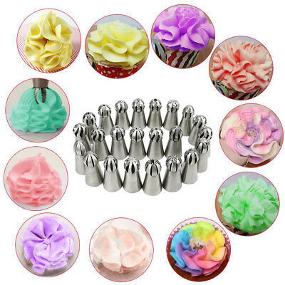 Sphere Ball Russian Icing Piping Nozzles Tips Pastry Cupcake Baking Tool