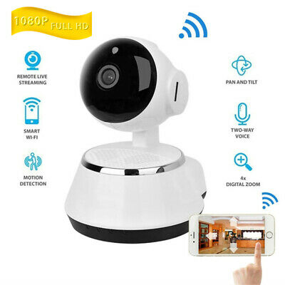 HD 1080P WIFI Wireless Pan Tilt Security IP Camera CCTV Night Vision Webcam Cam