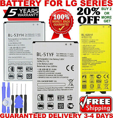 Brand New Replacement Battery Compatible For G3 G4 G5 G6  Battery