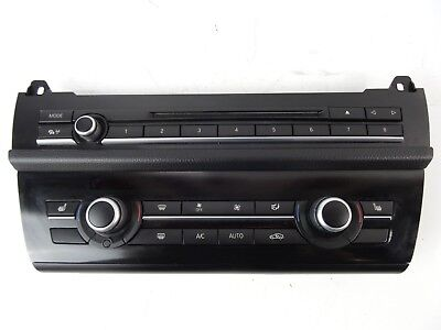 2012 BMW 5 Series F10 2010 - 2016 Stereo Control Panel & Heater Controls