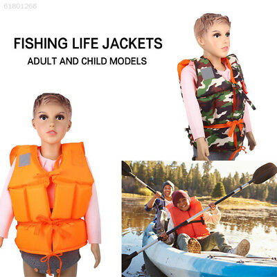 E96A Fishing Sport Life Jackets Adult/Kids Outdoor Costume Clothing Convenient