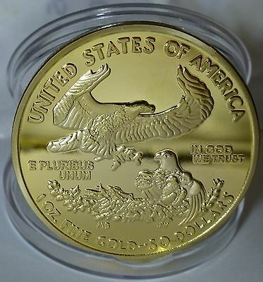 Walking Liberty - 50 Dollars Gold Eagle Coin
