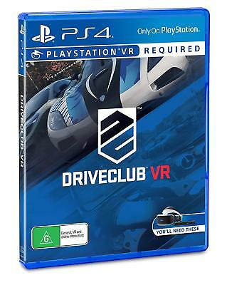 Driveclub VR 80+ Cars Racing Game In Virtual Reality Sony Playstation 4 PSVR PS4
