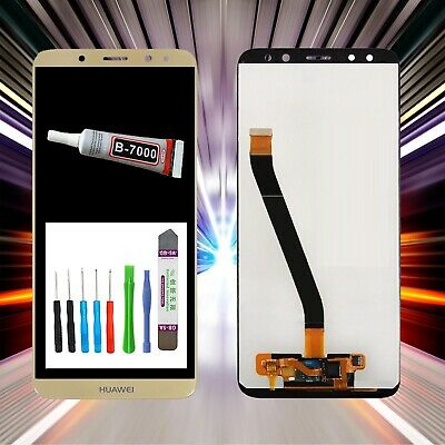 Original Huawei Display Mate 10 Lite RNE-L01,RNE-L02 LCD Touch Glas Scheibe Gold