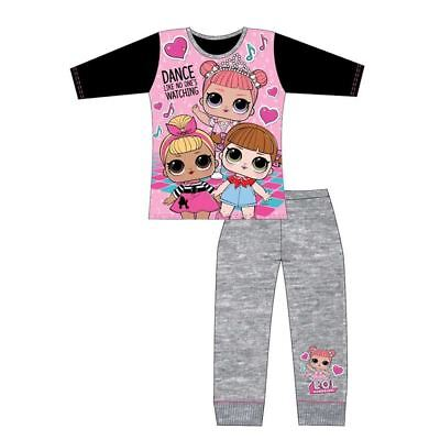 Childrens Girls LOL Surprise Pj Set Dolls Pajamas Sleepwear Gift