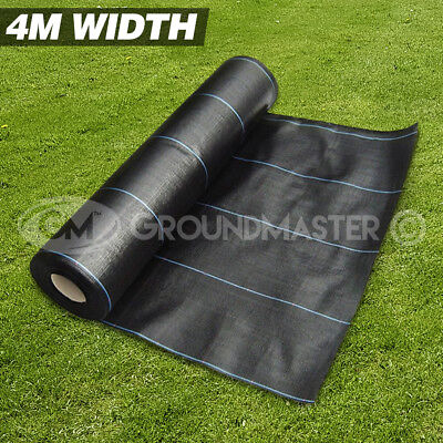 4M x 10M GROUNDMASTER™ HEAVY DUTY WEED CONTROL FABRIC GROUND COVER  MEMBRANE