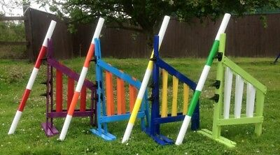 Handmade Dog Agility Jump Choose Your Own Colours READ CAREFULLY