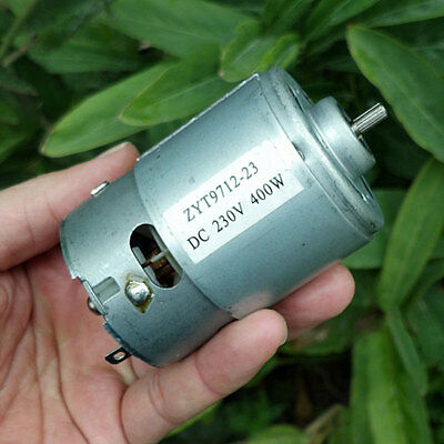 DC230V Motor 400W 17000RPM High Power Large Torque For Micro Spindle Motor 9712