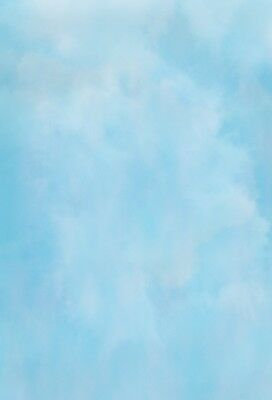 UK Gradient Sky Blue Backdrop Event Portrait Photography Studio Background 5x7ft