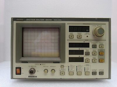 Anritsu MS610B Spectrum Analyzer, 10 kHz to 2 GHz