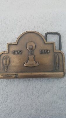 Vintage Limited Edition GE Belt Buckle