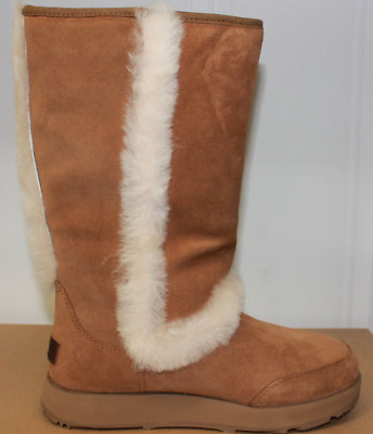 0c705a081ca UGG AUSTRALIA SUNDANCE Waterproof Chestnut Boot Women's sizes 5-11/36-42  NEW!!!