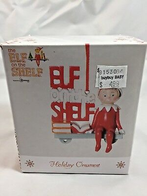 The Elf On The Shelf Holiday Ornament By Roman - 2011 New In Box