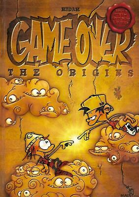 MIDAM-GAME OVER H.S.--THE ORIGINS--Editions MAD BRIK bande dessinée