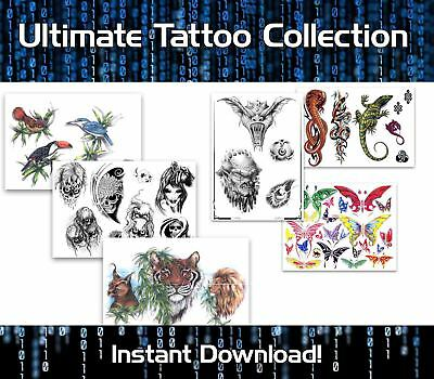 Ultimate Tattoo Collection Download -  Over 100,000 Designs And Bonus Tutorials
