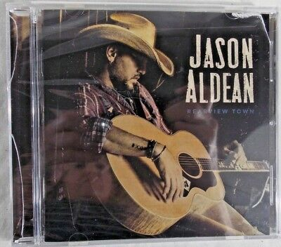 Rearview Town  JASON ALDEAN, CD, CONFIRMED New , Jewel case has cracks