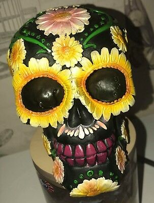 Latex Moulds for making this sunflower skull