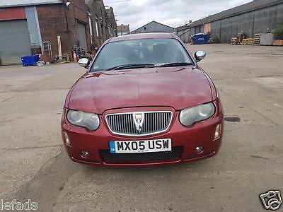 2005 Rover 75 Connoisseur Se Auto Red. Low Miles.leather Interiors