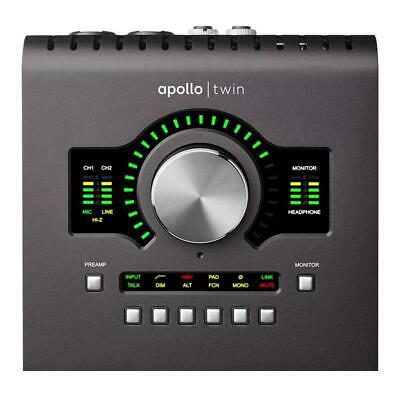 Universal Audio Apollo Twin MkII Quad Core Processing Audio Interface Mac/Win