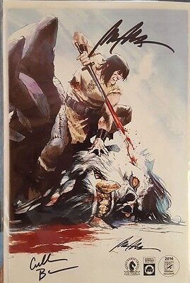 Conan The Slayer #1 SDCC 2016 Variant SIGNED by Rafael Albuquerque, Cullen Bunn