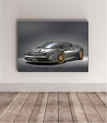 Ferrari 458 Wall Art ✓ The Ferrari Car