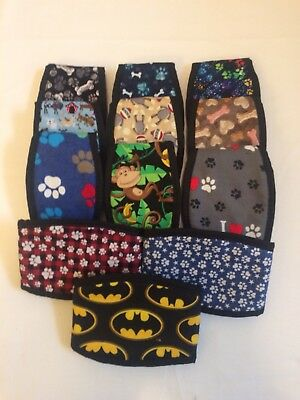 3 Pk dog diaper belly band Wraps For Small Medium Dogs Sz 10-12
