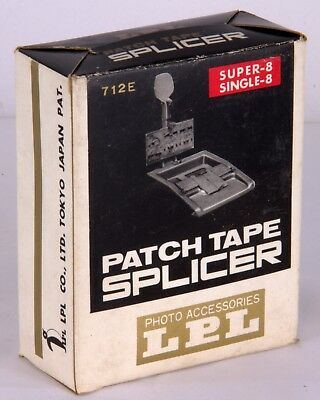 Vintage LPL Patch Tape Splicer 712E Super 8 & Single 8  VGC
