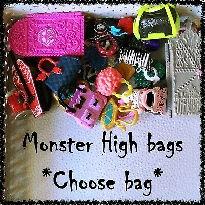 MONSTER HIGH Doll Handbags, Suitcases, Holdalls ~SELECT STYLE~ 1 incl.