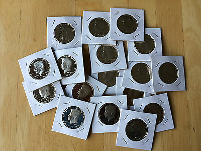 Old Rare Gem PROOF US Kennedy Half Dollar Mint Coin Mixed Lot!!BUY 5 GET 1 FREE