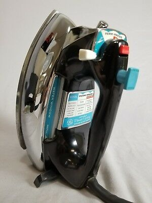 Vintage 1960s GE General Electric Variable Power Spray Iron H1F101 1100 Watts