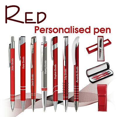 Promotional personalised pen *XENO* blue// black ink *school leavers* gift boxes