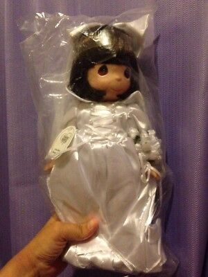 "DISNEY PRECIOUS MOMENTS Snow White Dreams Bride Doll 12"" HTF"