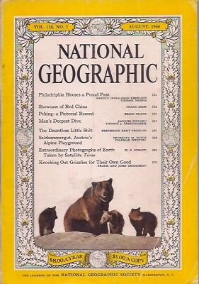 national geographic-AUG 1960-GRIZZLIES.