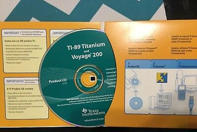 2007 Texas Instruments TI-89 Titanium and Voyage 200 Product CD V1.5