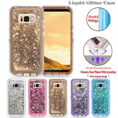 For Samsung Galaxy s8 + Defender Case With Screen Protector Fits Otter box