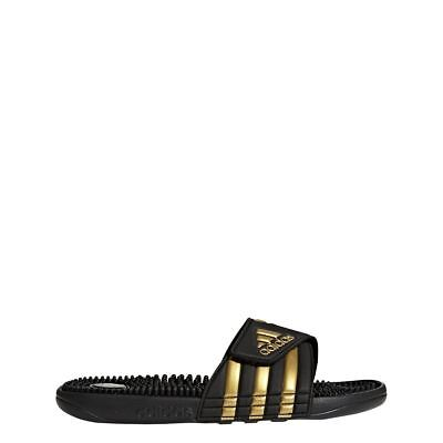 [CM7924] Mens Adidas Adissage Sandal Slide Swim - Black/Gold