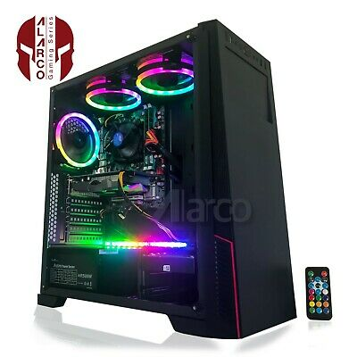Gaming PC Desktop Computer Intel i5 3.20GHz,8GB,1T,Win10,WIFI,Radeon 7470 HD 1GB