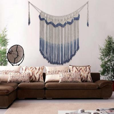 Macrame Wall Hanging Natural Cotton Handmade Woven Tapestry Boho Home Decoration