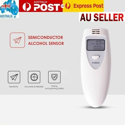 New MINI Portable Digital Breath Analyzer & Alcohol Tester LCD In AUS SELL