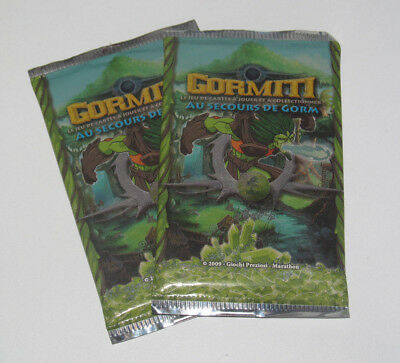 Lot x 2 Paquets de Carte Gormitti au Secours de Gora