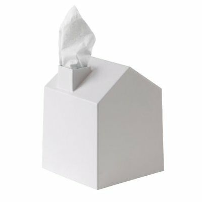 Umbra Casa Tissue Box Cover - Adorable House Shaped Square Tissue Box Holder for