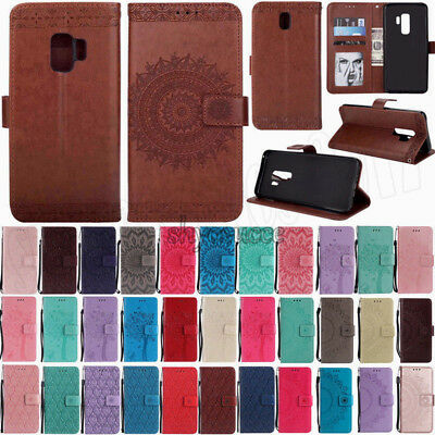 Flip Case Cover For Samsung Galaxy S8+/ S9 Plus Luxury Leather Wallet Card Stand