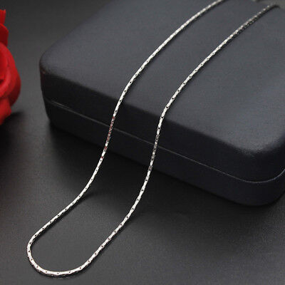WHOLESALE 1.2mm 18''20''22'' 316L Stainless Steel Fancy Chains Necklaces
