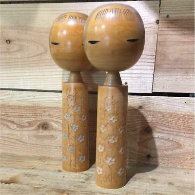 Kokeshi old Japanese traditional crafts retro cute vintage rare popular F / S!