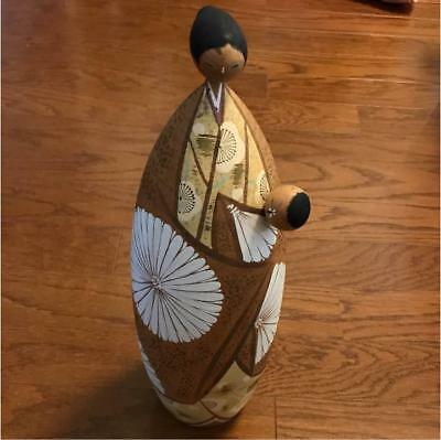 Kokeshi Japanese traditional crafts retro cute vintage super rare popular F/S!